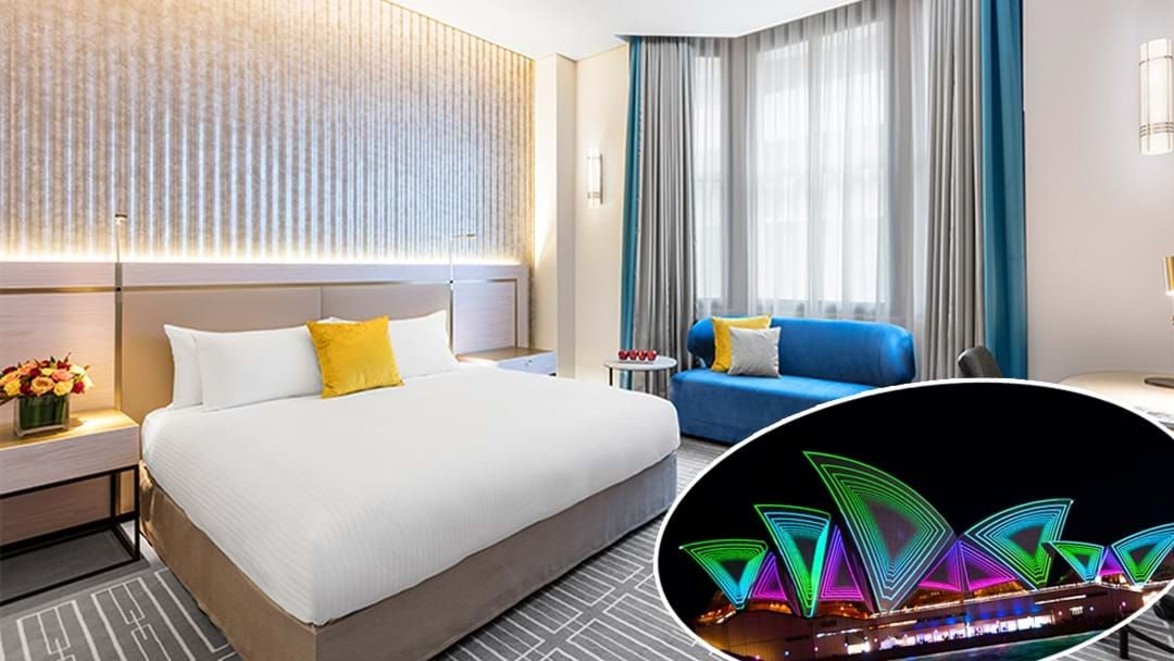 Article heading image for Score Yourself A 5 Star Staycation During Vivid Sydney!