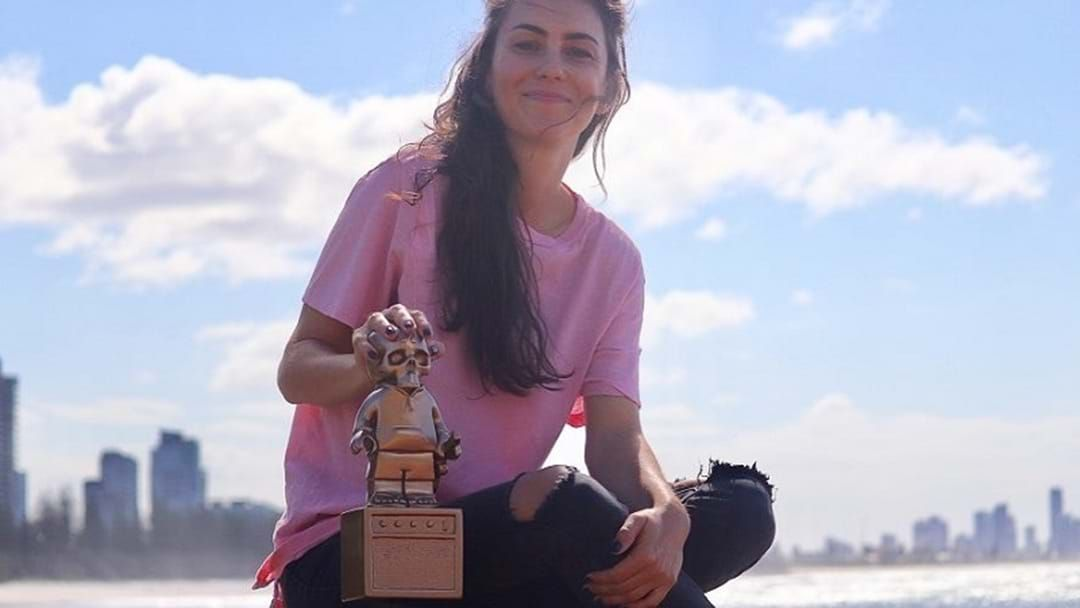 Article heading image for Amy Shark To Be Inducted Into The Gold Coast Music Hall Of Fame