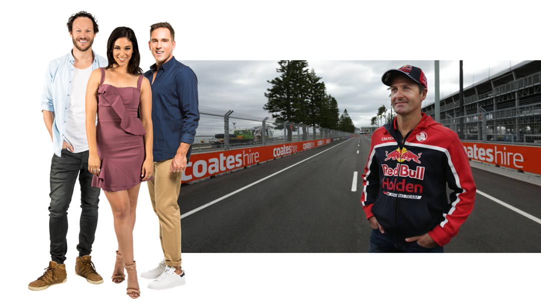 Article heading image for Jamie Whincup chats about the Newcastle 500 track after last year's win