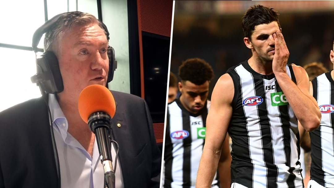 Article heading image for Eddie Explains Why Scott Pendlebury Missed Yesterday's Game