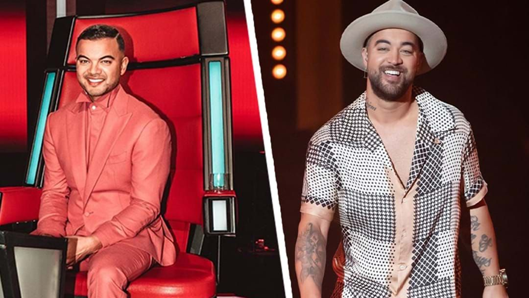 Article heading image for Guy Sebastian Reveals His Brother Didn't Actually Apply For The Voice He Was Asked To Come Back