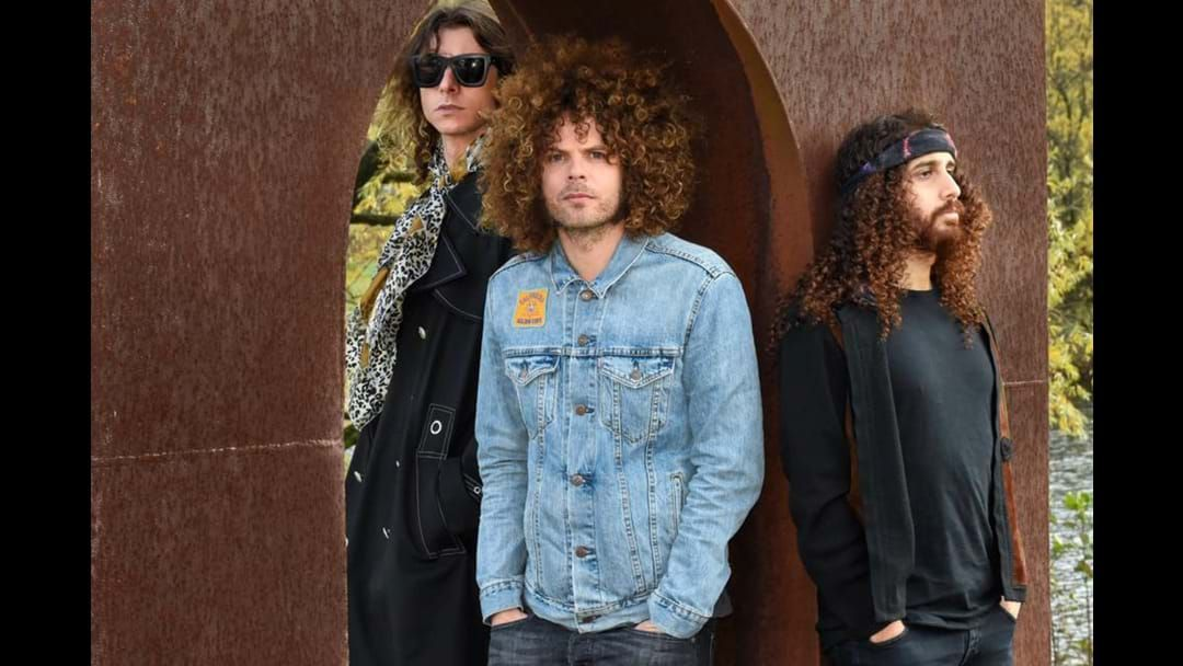 Article heading image for Wolfmother Are Back In The Studio And Dave Grohl Crashed The Recording Session