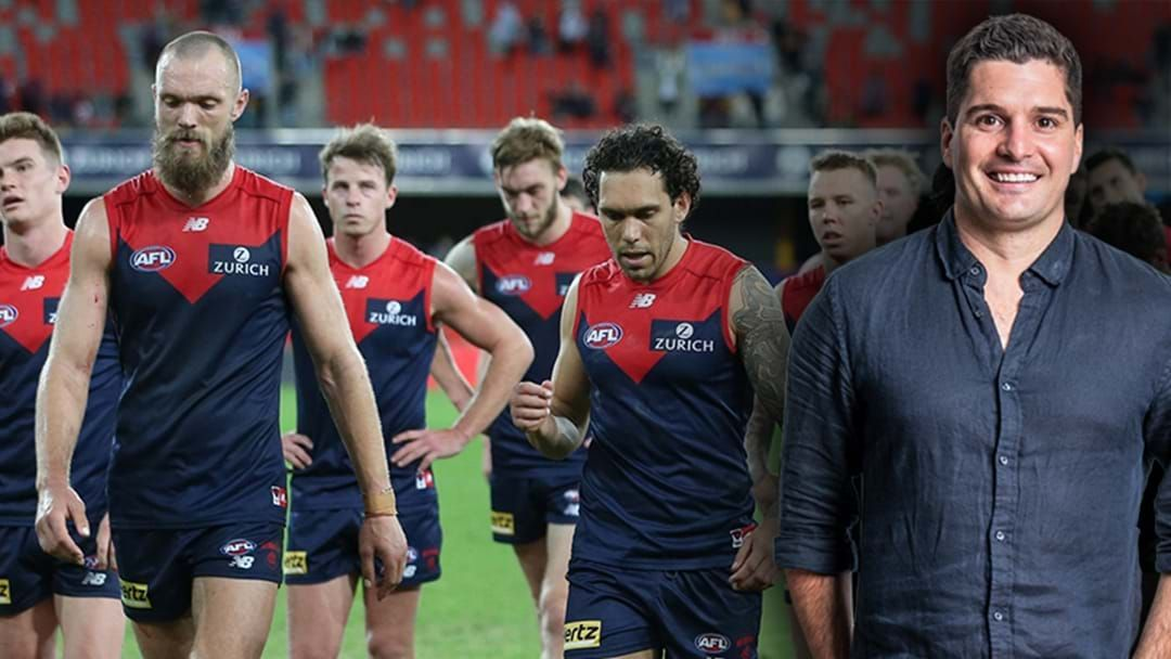 """Article heading image for Joey Montagna Defends Melbourne's Playing Group After Their Own President Called Them """"Insipid"""""""