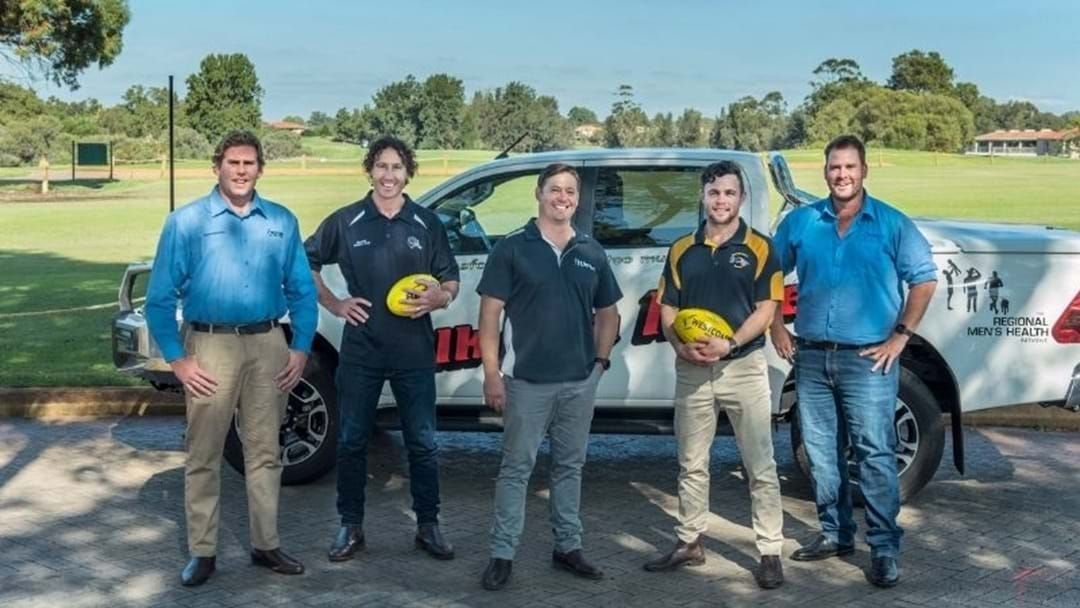 Article heading image for Former West Aussie Star Footballers Return To Field For Men's Wellbeing