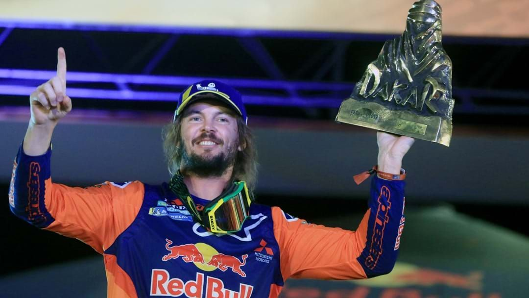 "Article heading image for Toby Price Gets Real About His ""Two Weeks Of Hell"" In The Dakar Rally"