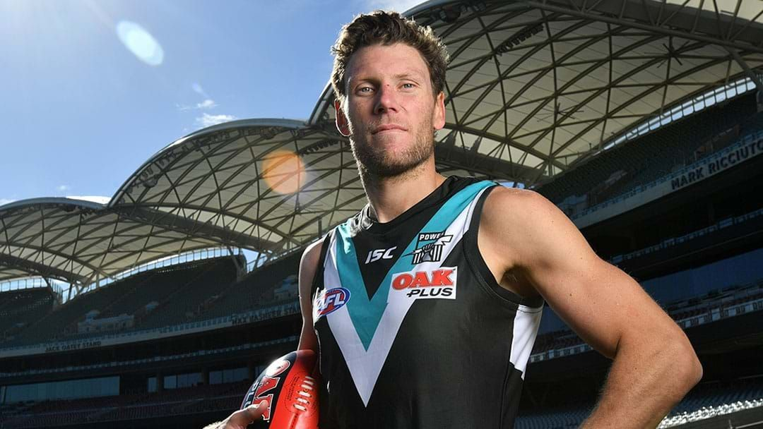 Article heading image for Brad Ebert Confirms When He'll Be Returning To Play For Port