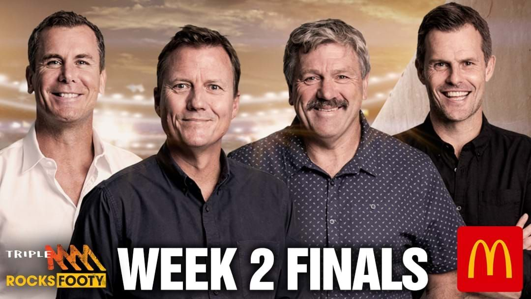 Article heading image for Triple M Footy On Air Schedule, Week 2 Finals 2021