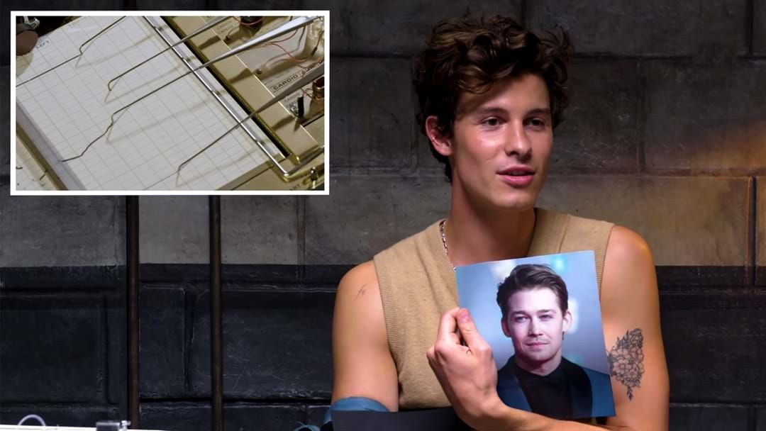 Article heading image for Shawn Mendes FAILS A Lie Detector Test About Taylor Swift