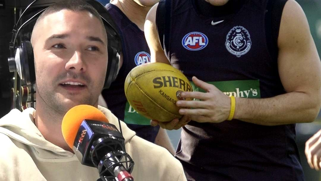 Article heading image for LISTEN   Shaun Grigg Names The Worst Pre-Season Trainers He Ever Played With!