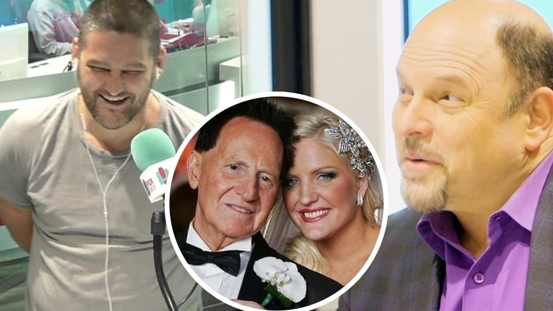 """Article heading image for """"What Were They Doing!?"""" Fev & Jason Alexander Talk About Both Being At Geoffrey Edelsten & Brynne Gordon's Wedding!"""