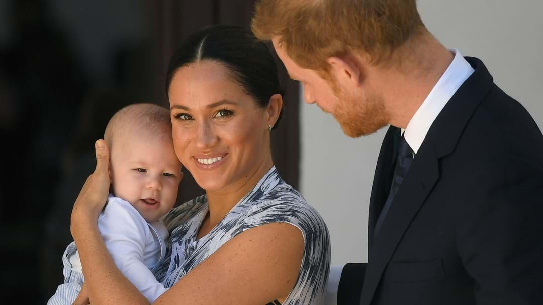 Article heading image for Meghan Markle & Prince Harry's Official Christmas Card Is Here & Archie Looks Just Like His Dad!