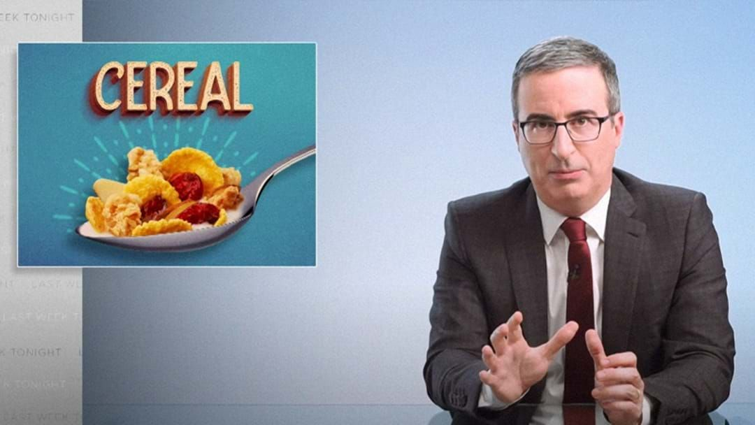 Article heading image for John Oliver's $50,000 Challenge to Cheerios