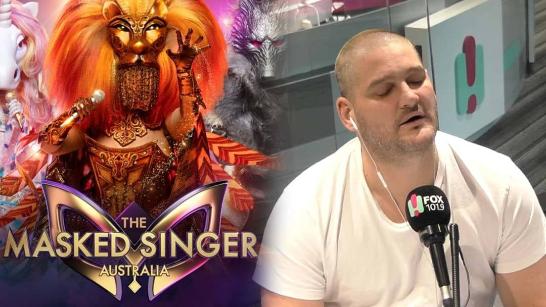 Article heading image for Brendan Fevola Deflects Allegations He's Signed On For The Masked Singer 2020 And No One's Convinced!