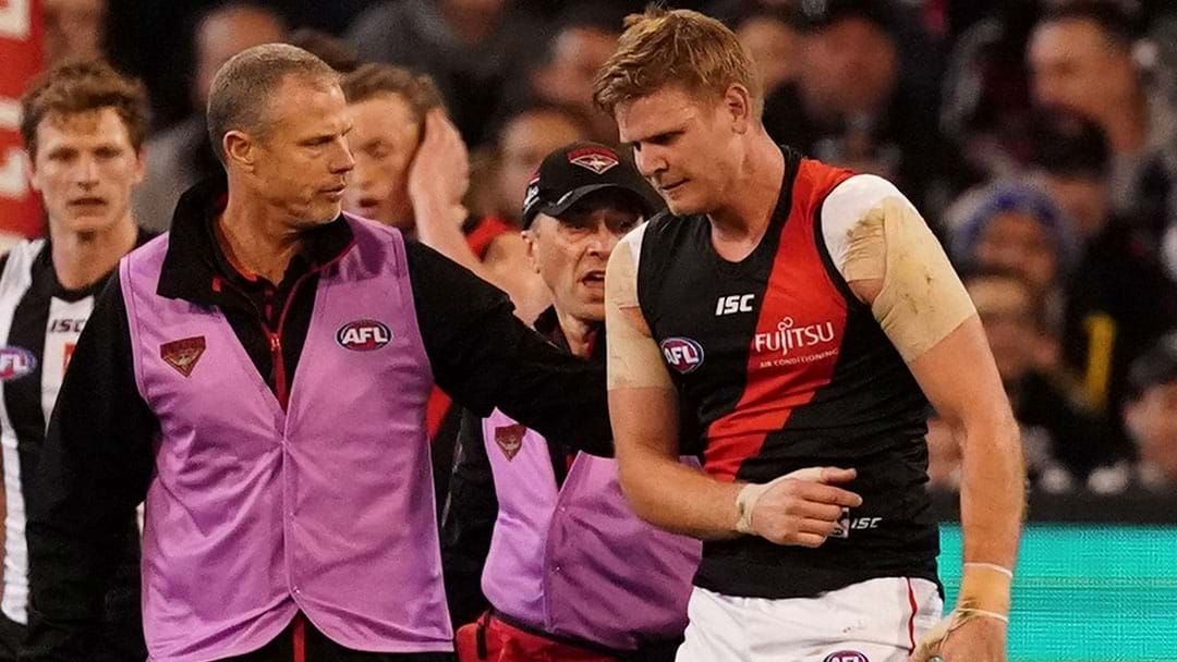 Article heading image for Michael Hurley Has Injured His Shoulder
