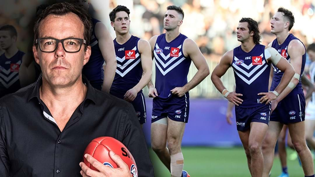 "Article heading image for Damian Barrett: Rival Clubs Are ""Getting Really Frustrated"" With Fremantle"