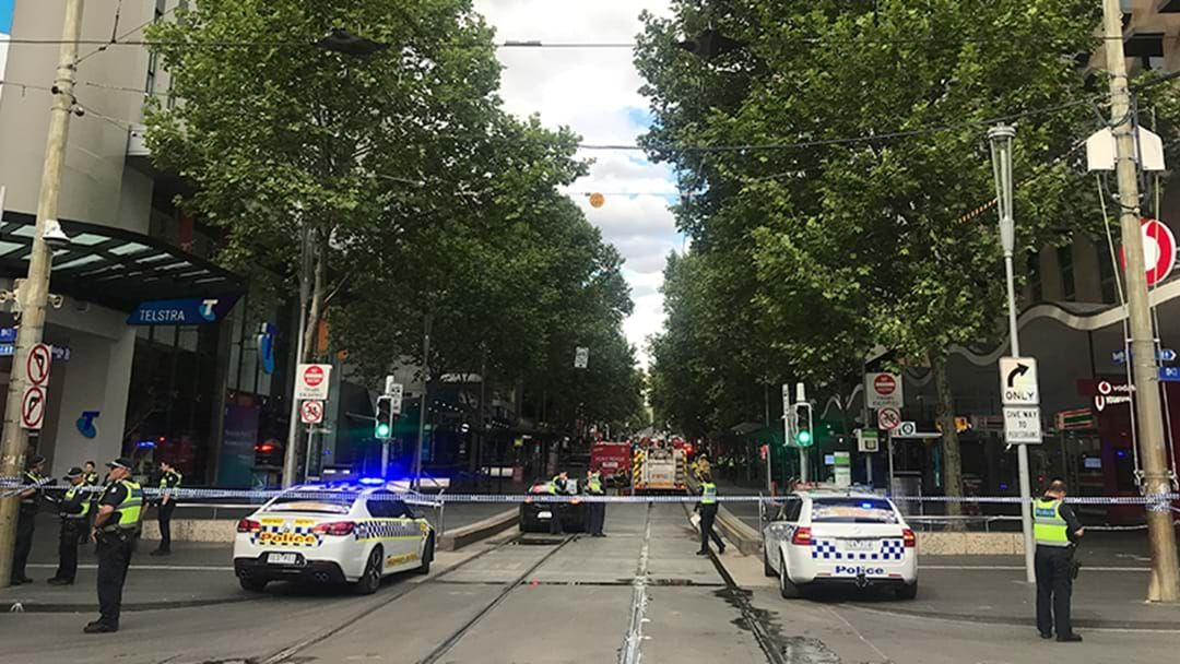 """Article heading image for Police """"Confident"""" Bourke Street Incident Was Terror Attack"""