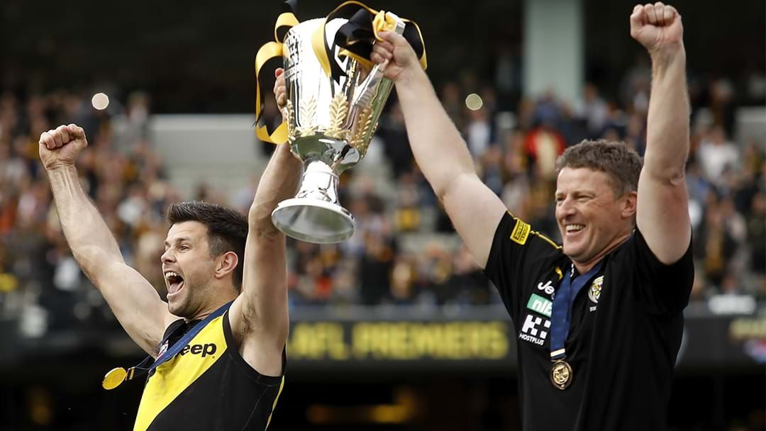 Article heading image for LISTEN | Damien Hardwick Gives His Thoughts On The Premiership Medal Debate