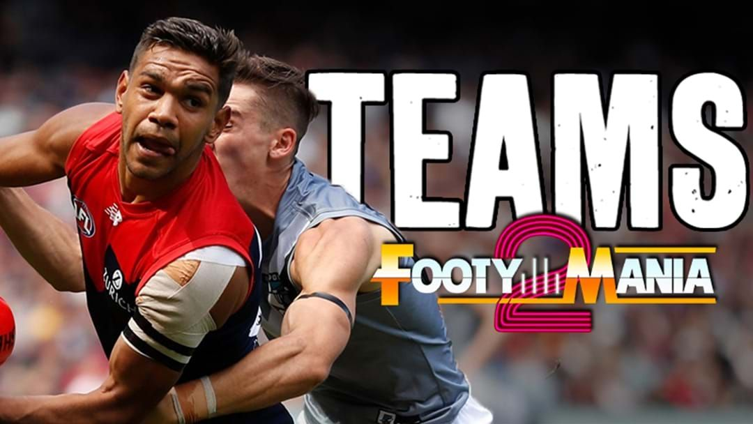 Article heading image for AFL Teams - FootyMania2 Day 2