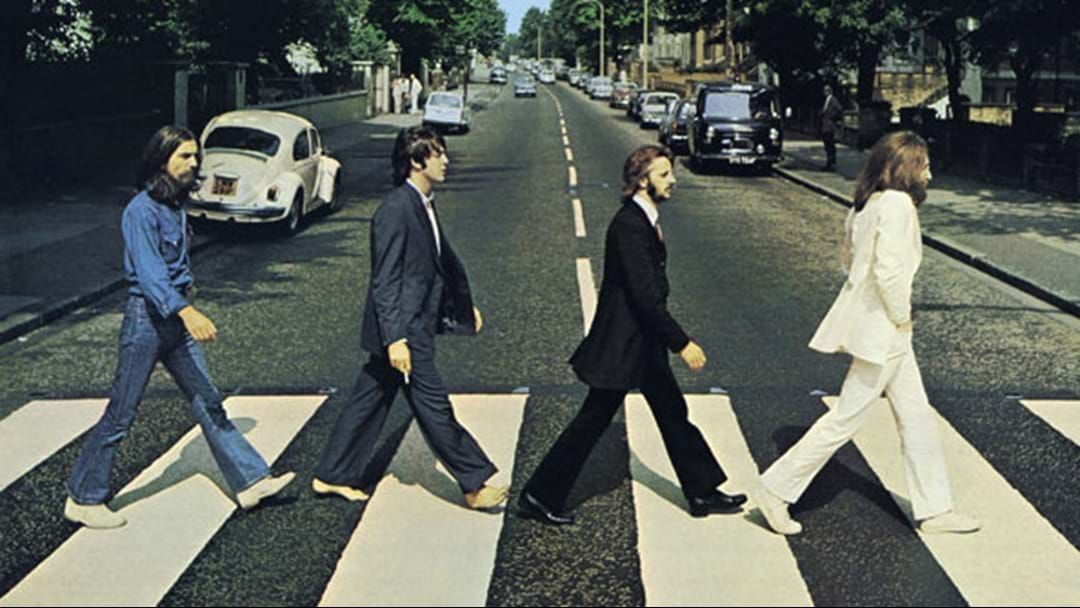 Article heading image for Paul McCartney Talks About That Classic Look On The Abbey Road Album Cover