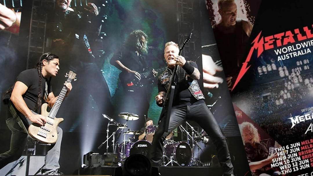 Article heading image for Metallica Hoping To Reschedule Australian Tour Next Year