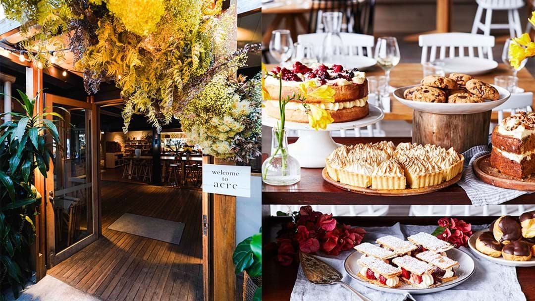 Article heading image for Acre Eatery Has Transformed Into A Gorgeous Country Restaurant Straight Out Of A Catalogue