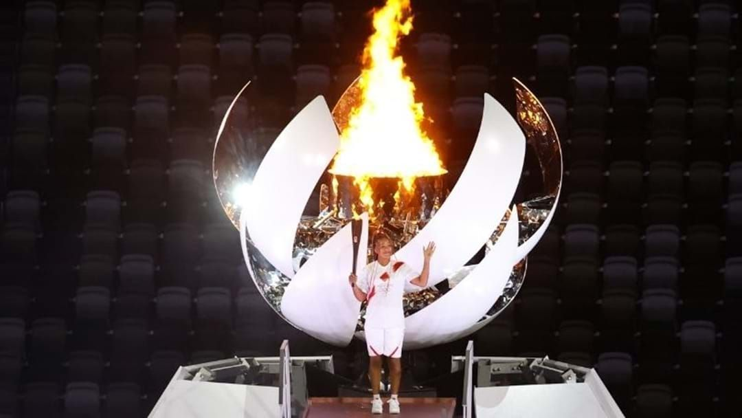 Article heading image for The Games Begin With Naomi Osaka Lighting The Olympic Cauldron In Tokyo