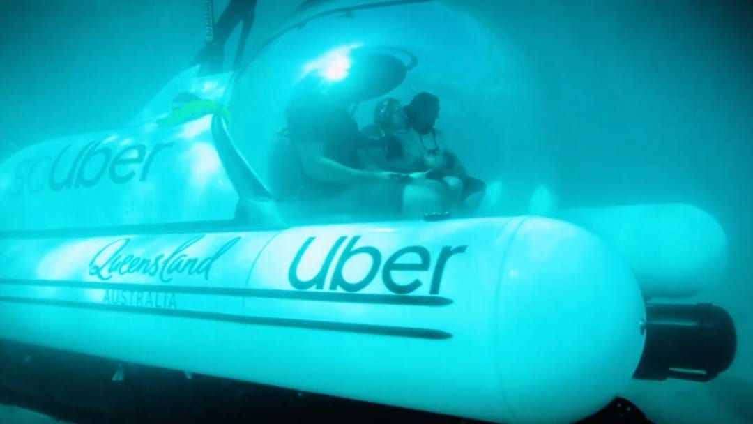 Article heading image for NOT A JOKE: Uber Launches scUber In The Great Barrier Reef
