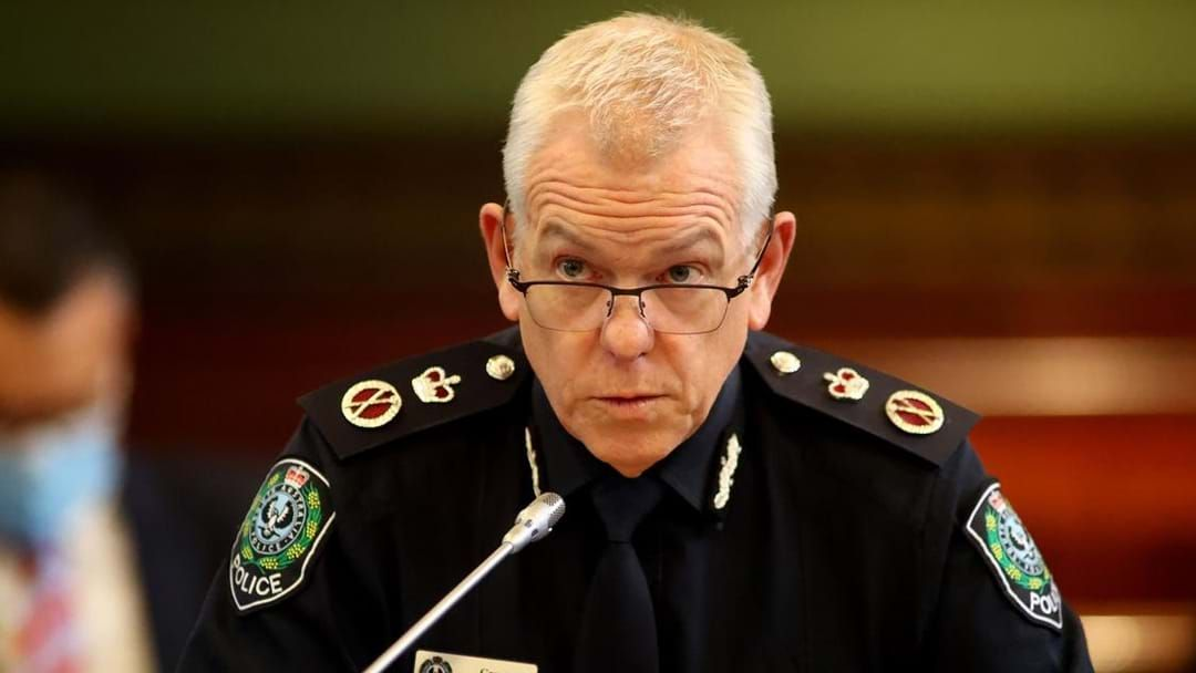 Article heading image for Police Commissioner Confirms Easing Of Restrictions In State's South East