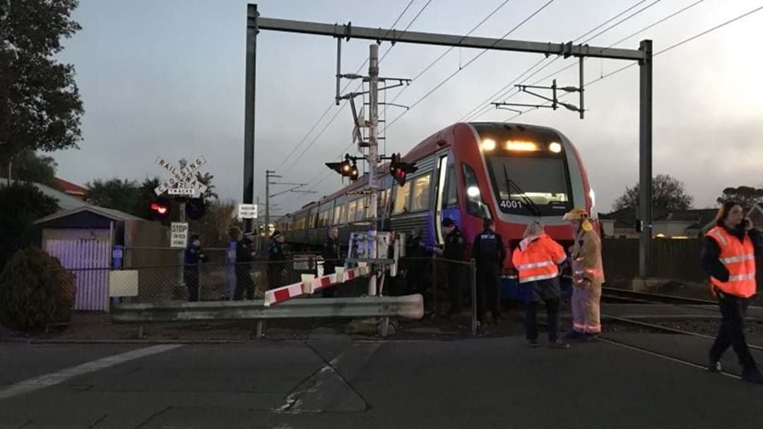 Article heading image for BREAKING: Pedestrian Dies After Being Hit By A Train At South Brighton