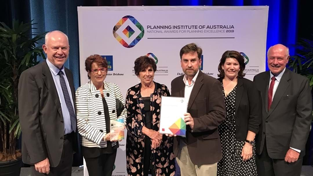Article heading image for Toowoomba Region's Flood Management Project Wins National Planning Excellence Award