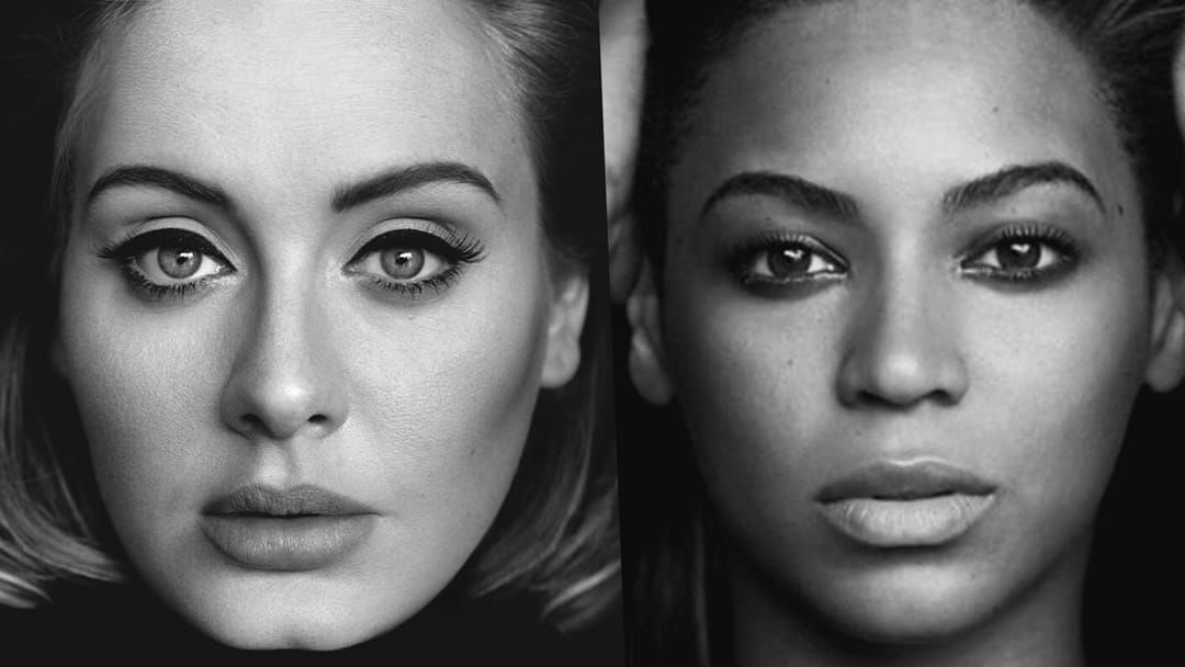 Article heading image for BREAKING: Is Adele About To Drop A Song With Beyoncè?