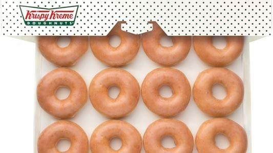Score Yourself A Dozen Krispy Kreme Doughnuts For Just 16c