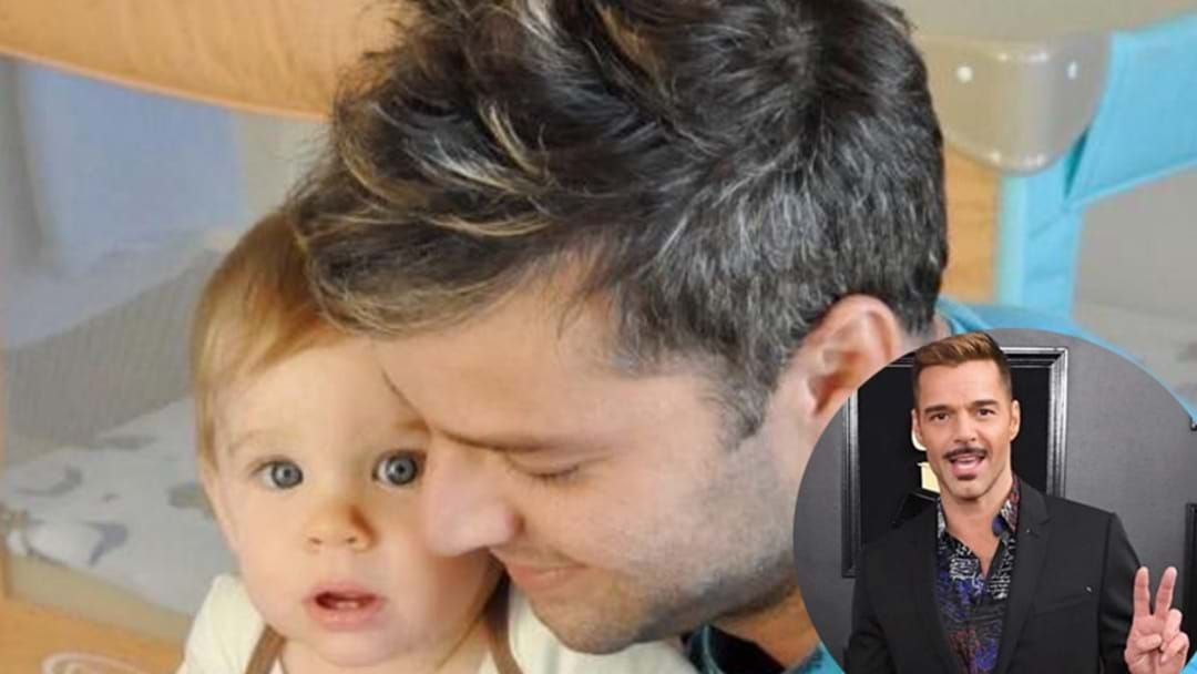 Article heading image for Ricky Martin's Grown Up Son Was His Adorable Date To The Grammys