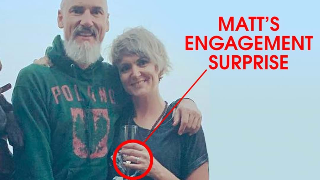 Article heading image for LISTEN: Matt's Beautiful Story On How He Planned His Big Engagement News Over The Chrissy Break