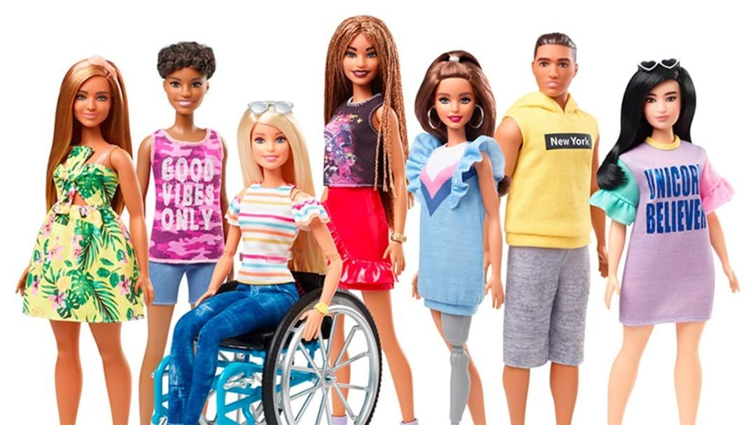 Article heading image for Mattel's Next Barbie Range Will Include A Doll With A Prosthetic Leg & Wheelchair
