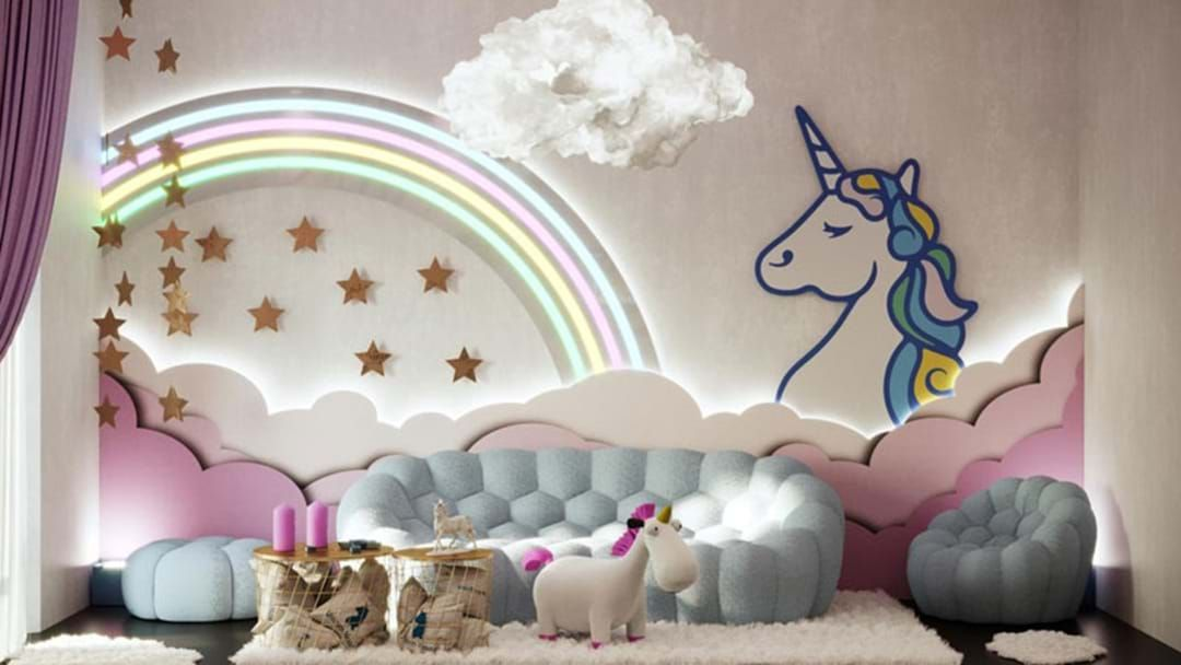 Article heading image for A Unicorn Hotel Exists & It's The CUTEST Thing Ever!