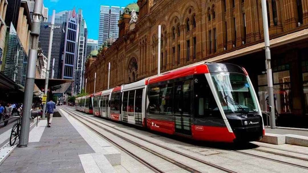 Article heading image for The Light Rail Officially Opens This Weekend & Here's Everything You Need To Know
