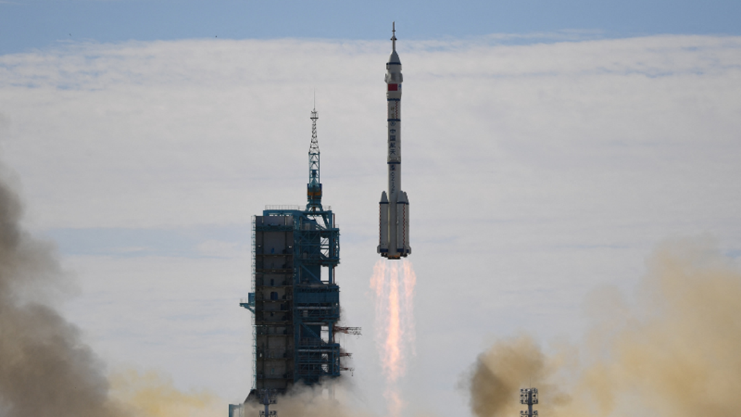 Article heading image for China's Longest Ever Crewed Mission To Space Has Just Began