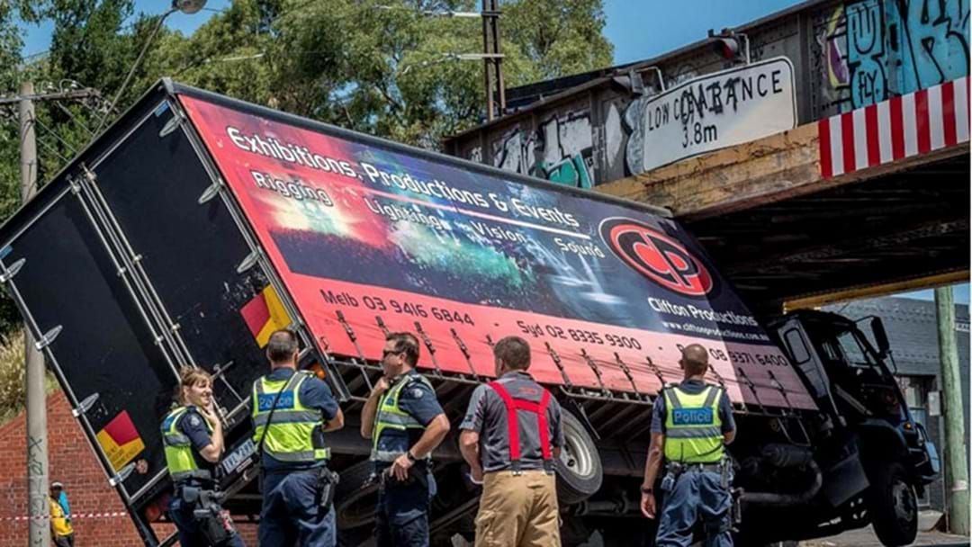 Article heading image for City Road Bridge Has Channeled The Montague Street Bridge And Claimed A Truck