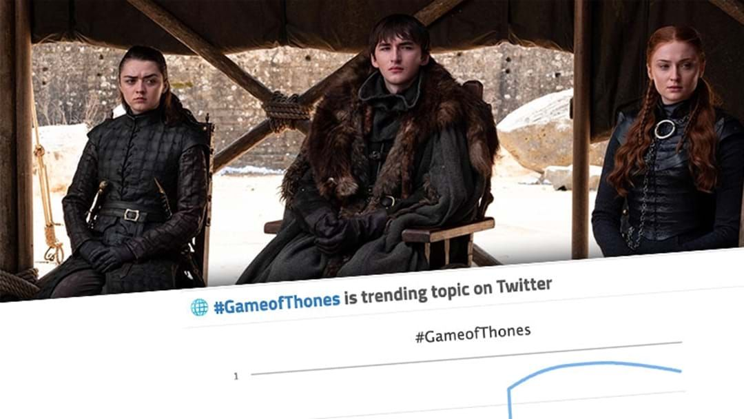 Article heading image for Thousands Tweeted About The GOT Finale Last Night Using The Wrong Hashtag