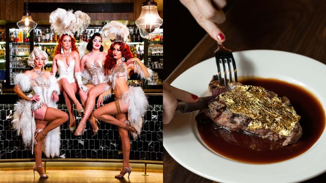 Article heading image for This New York-Style Sydney Restaurant Is Serving Up Golden Steaks!