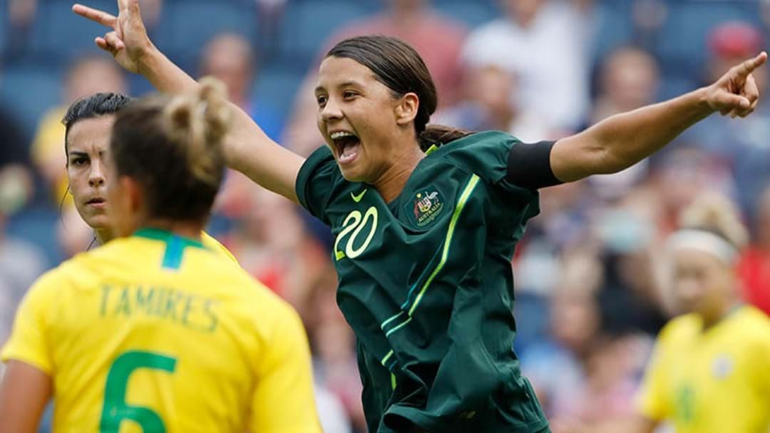 "Article heading image for ""I Want To Win A World Cup"": Hear What Is Motivating Marquee Matilda Sam Kerr"