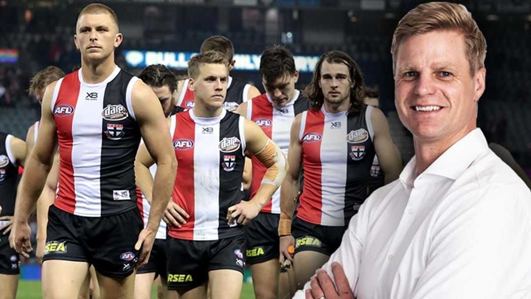 Article heading image for LISTEN | Nick Riewoldt: The Stat That Underlines St Kilda's Drop Off