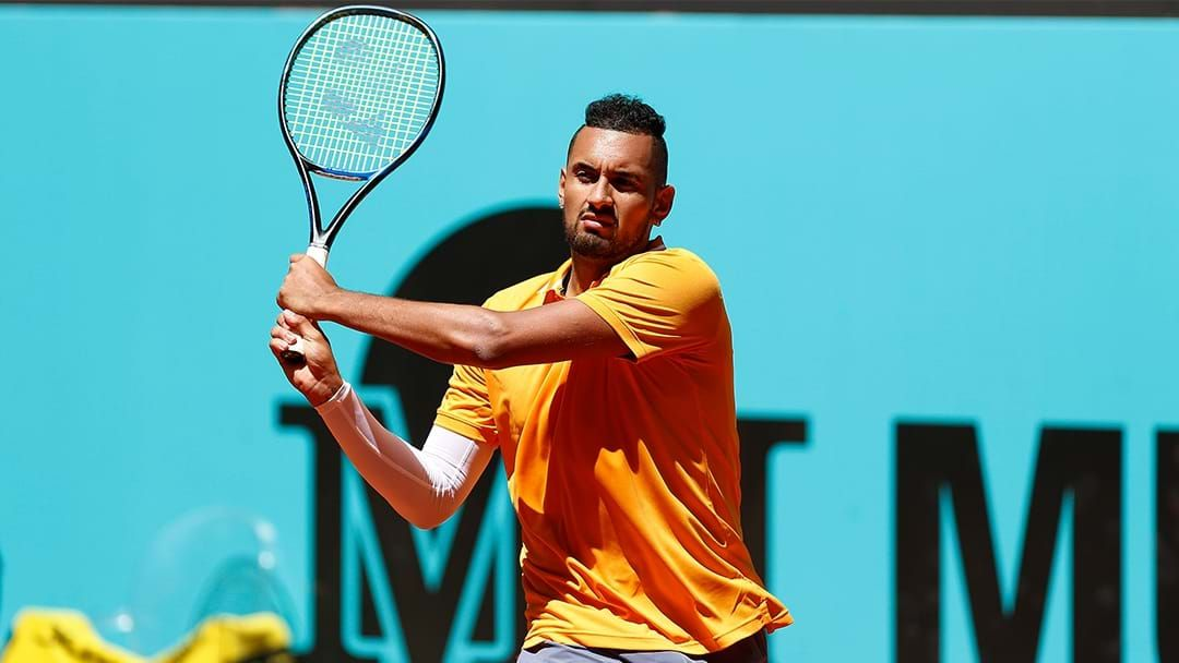 Article heading image for Nick Kyrgios Takes Aim At Rafael Nadal & Novak Djokovic