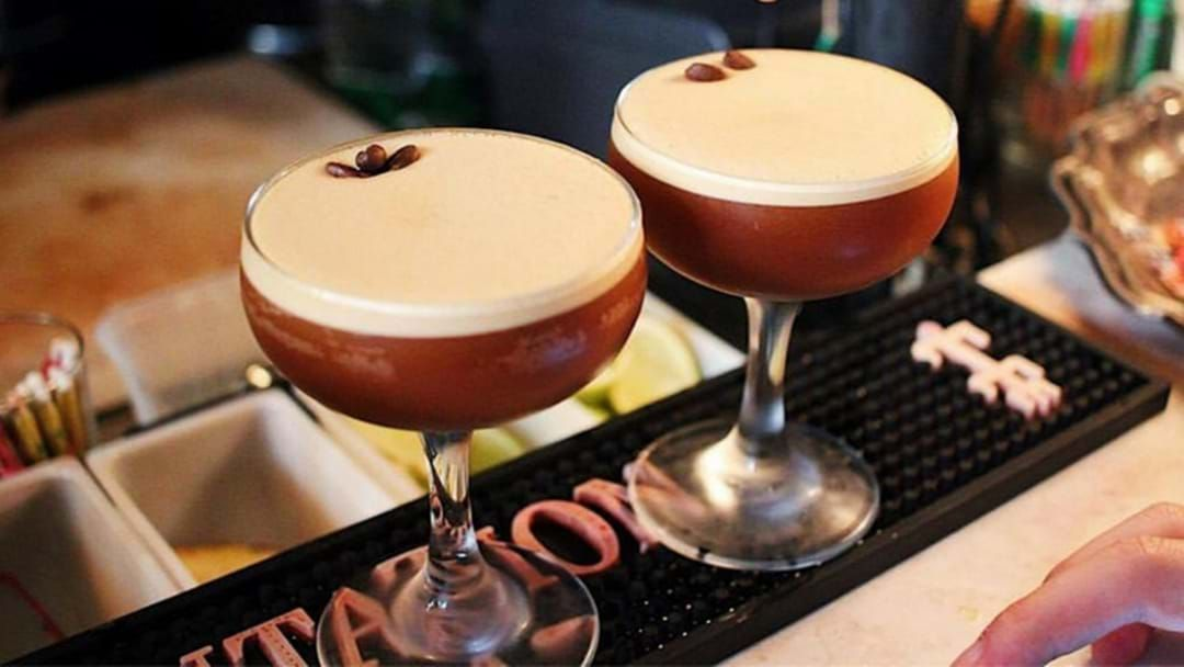 Article heading image for FYI This Cocktail Bar Is Serving $5 Espresso Martinis Every Week