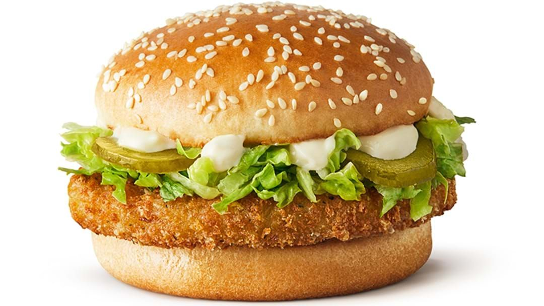 Article heading image for McDonald's Finally Launches Their McVeggie Burger Across Australia