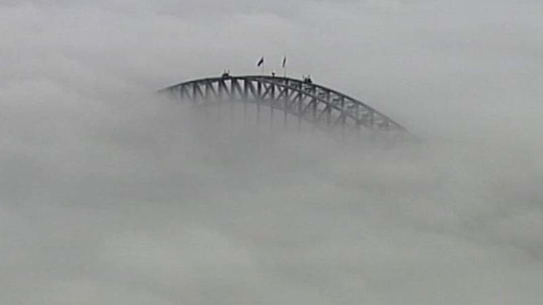 Article heading image for This Morning's Fog Caused Absolute Chaos Across Sydney