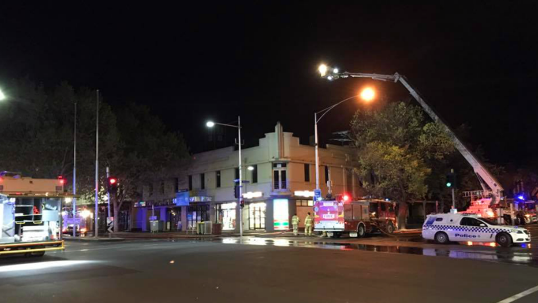 Article heading image for Fears Lygon St Buildings Could Collapse Following Suspicious Fire
