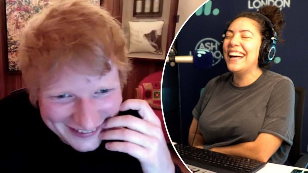 Article heading image for Ed Sheeran Reveals Which AFL Team He Wants To Sponsor