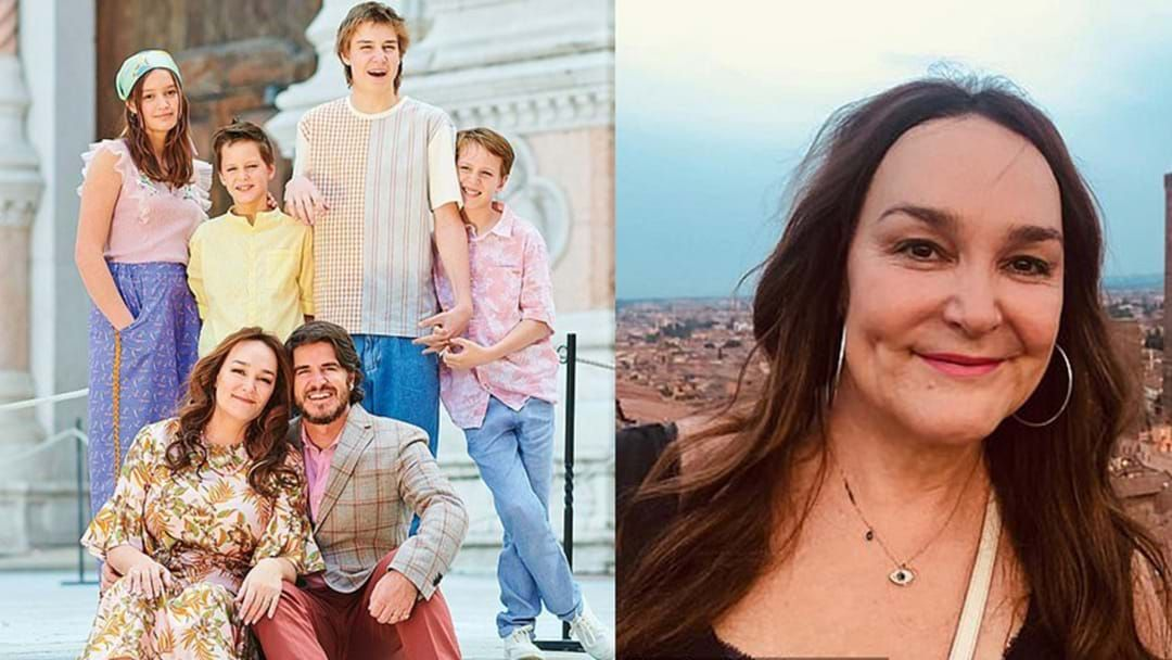 Article heading image for Kate Langbroek Is STRANDED In Italy With Her Family Due To COVID Lockdowns